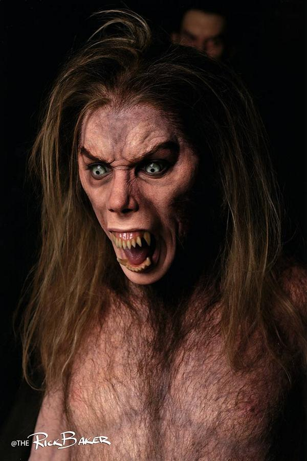 Rick Baker Releases Images Of Unused Werewolf Effects From